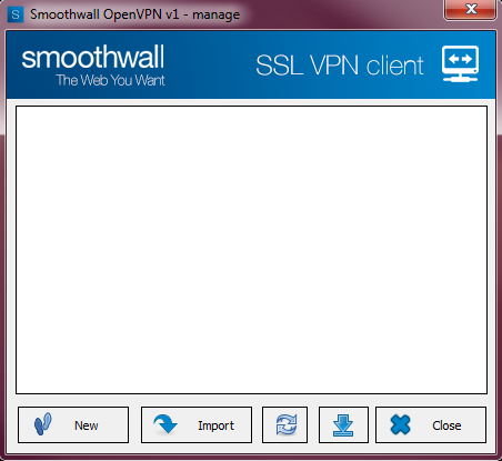 Smoothwall: SSL VPN Connections